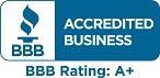 Accredited Business: A+ Rating With BBB